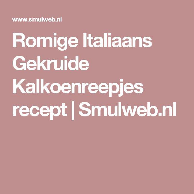 Romige Italiaans Gekruide Kalkoenreepjes recept   Smulweb.nl