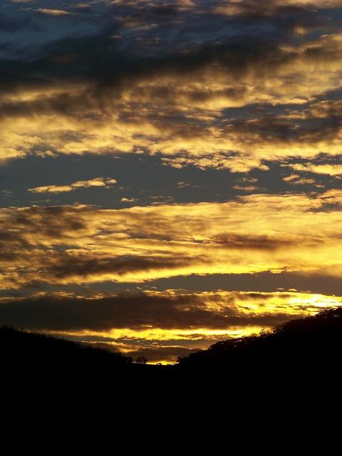 Thredbo sunset, Mount Kosciuszko National Park