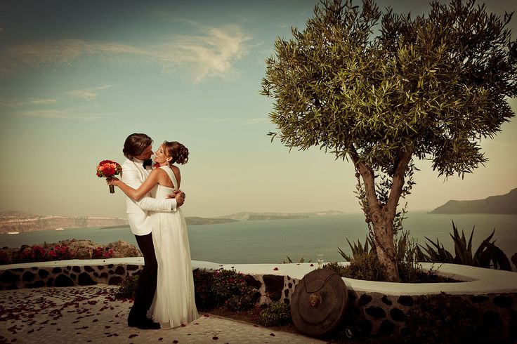 Wedding at Andronis Suites, Santorini  #santorini greece #wedding