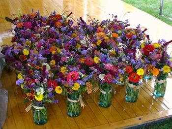Mason Jars With Costco Mini Bouquet Love It Lilac Weddingfarm Weddingwedding Flowerswedding