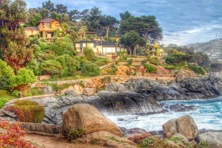 HDR Travel Pictures: Zapallar