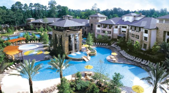 THE WOODLANDS RESORT RANKED AS A TOP 10 POOL DESTINATION FOR FAMILIES IN NORTH AMERICA.    10Best.com, a division of USA Today Travel, released its list of 'Top Hotel Pools Families Love,' and The Woodlands Resort earned a spot as the only resort in Texas on the list, which features resort properties in California, Florida, Hawaii, The Bahamas, Dominican Republic, Arizona and Colorado...