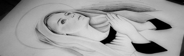 María José Artgumedo Virgen Maria #Virgen #Maria #Madre #Mother #Heaven #Art