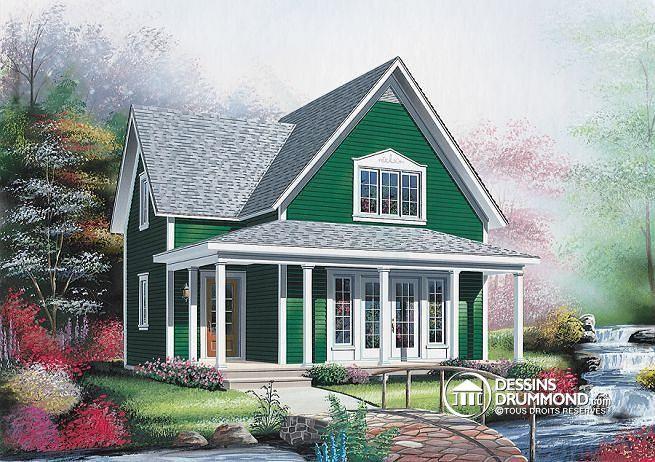 Plan de maison no. W2594 de dessinsdrummond.com