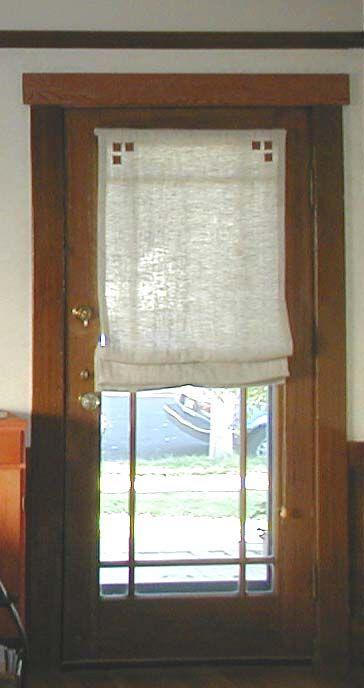 Arts Crafts Curtains Dream Home Pinterest Arts Crafts Front Doors And Front Door Curtains