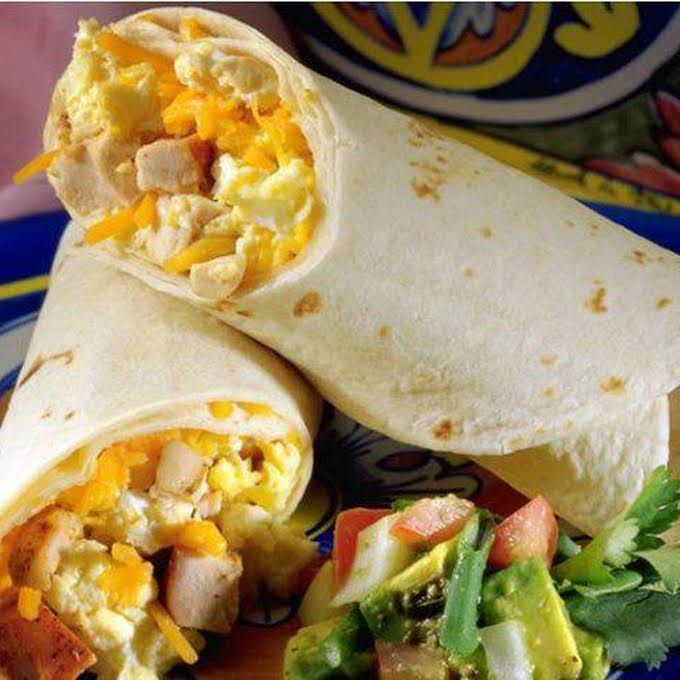 Baja Grilled Chicken Wrap Recipe Yummly Recipe Breakfast Wraps Breakfast Wraps Recipes Wrap Recipes