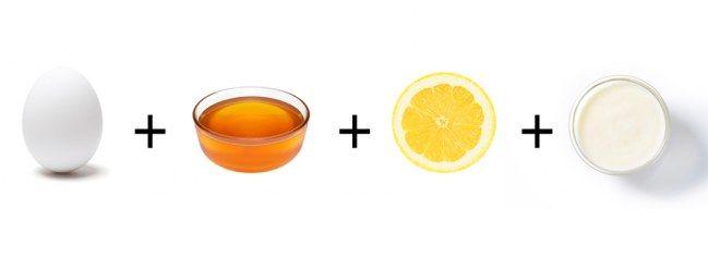 Masque BONNE MINE Ingrédients 1 blanc d'œuf 1 c. à soupe de miel liquide 1/2 c. à soupe de jus de citron 1 c. à soupe de yaourt ou de crème fraîche Comment le préparer ? Battez le blanc d'œuf puis ajoutez le miel et le jus de citron. Incorporez le yaourt et touillez pour obtenir un mélange homogène. Laissez poser 15 min puis rincez.