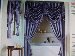 Jcpenney splendor empire valances shower curtains - Jcpenney bathroom window curtains ...