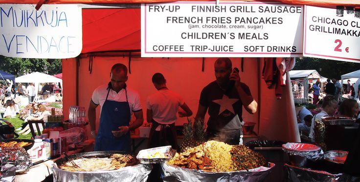 Restaurant day, Helsinki, Finland