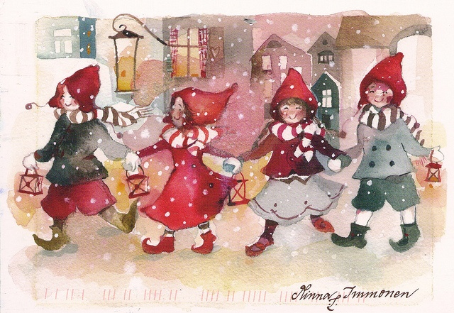 Adorable Children at Christmas! Minna Immonen