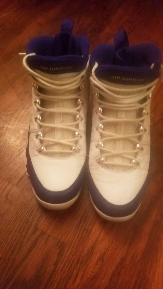 7c12a3c0418a Blue and White Retro 9 Jordans  fashion  clothing  shoes  accessories   mensshoes  athleticshoes (ebay link)