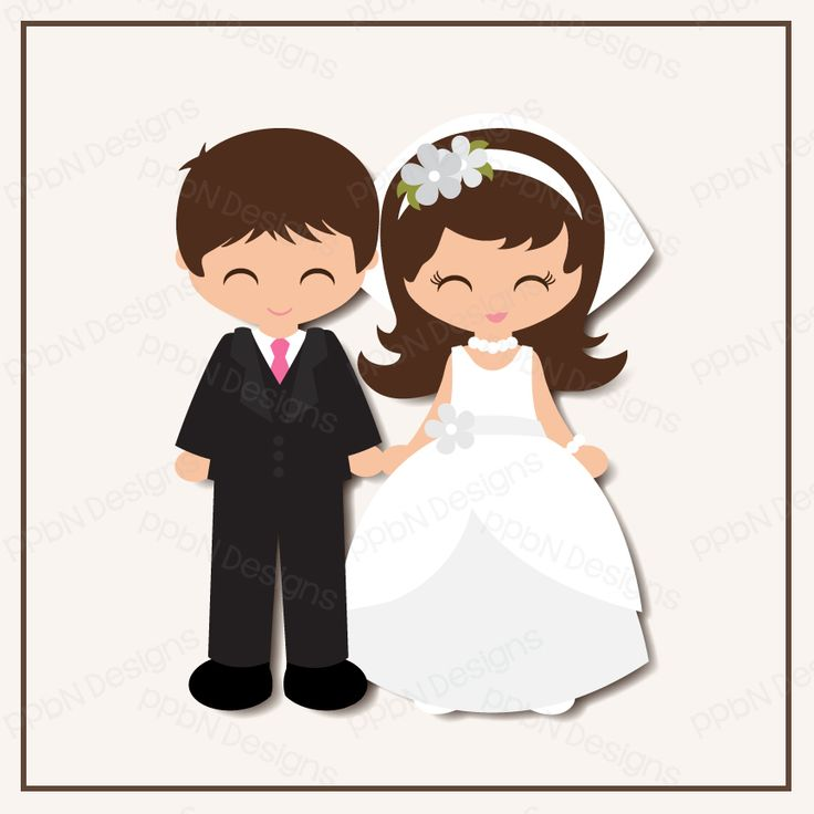 Bride and Groom l SVG Cutting FIle