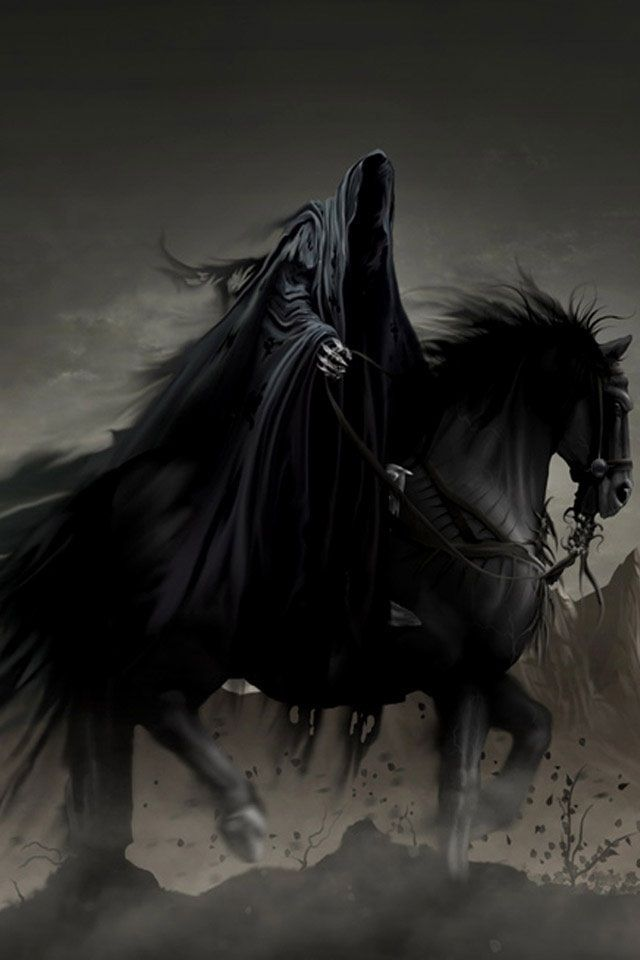 Another look at the possibility of the Grim Reaper being one of the four horsemen of the Apocalypse. From what I could tell it was one of the largest arguments of who the Grim Reaper is.