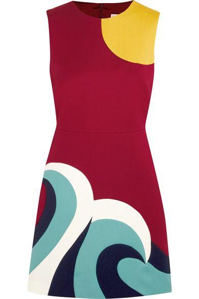 REDValentino - Paneled Cotton-cady Mini Dress - IT