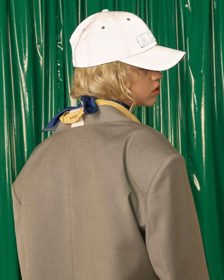 ADER cap club Dazzler cap in white #ader#adererror#cap#club#white