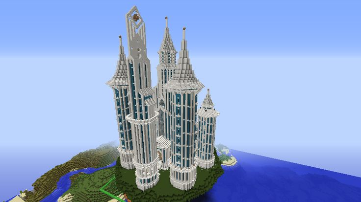 Minecraft World of Raar -SPOTLIGHT- Sky Castle Minecraft building ideas and structures