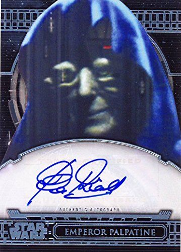 2017 Topps Star Wars 40th Anniversary Trading Cards Autograph Clive Revill, Voice of Emperor Palpatine //Price: $59.99 & FREE Shipping //     #starwarsfan