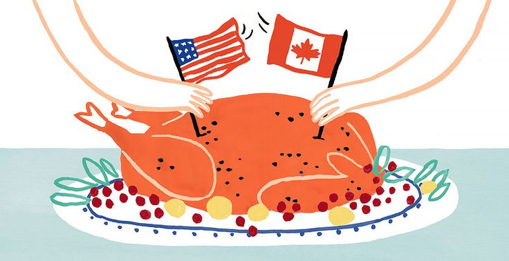 Trying to explain their version of the holiday can be a thankless task for Canadians living in America.