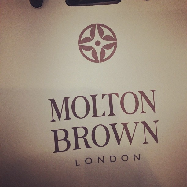 We were given a Molton Brown gift bag with a 50ml Toko Yuzu Spicy Shower Gel.  The shop on Regent Street is really lovely.  Highly recommend a visit.  #RegentTweet 2012