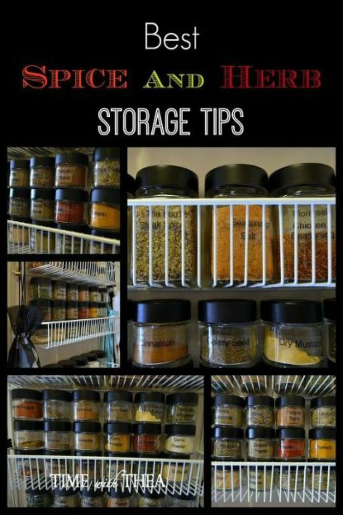 Ideas For Organizing Kitchen Spices