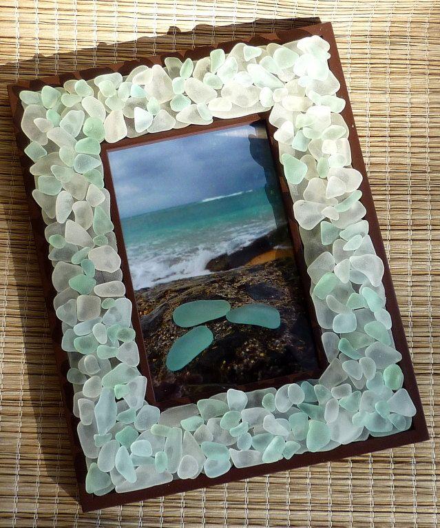 Копилка идей использования морских стеклышек. Часть 2 - Ярмарка Мастеров - ручная работа, handmade