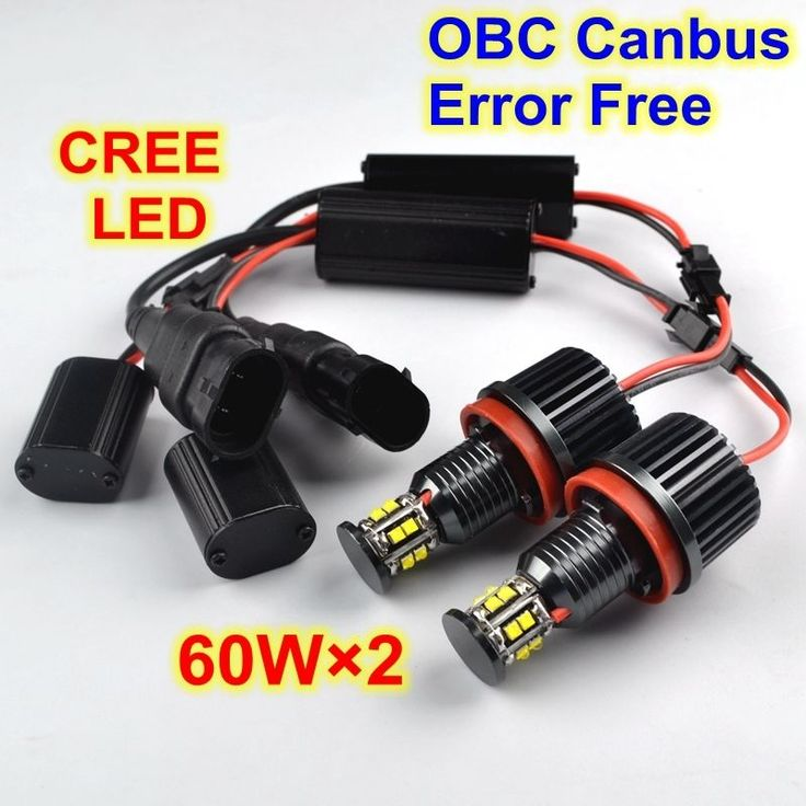 #120w=2×60w cree h8 bmw e91 e82 e61 e71 e89 led #angel eye light bulb #super bri,  View more on the LINK: 	http://www.zeppy.io/product/gb/2/351893140879/