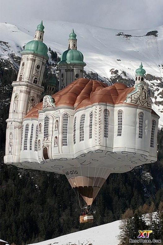 : Dreams Home, Hotair, Church, Hearst Castles, Palaces, Air Ballon, Beautiful Balloon, Hot Air Balloons, Aladdin