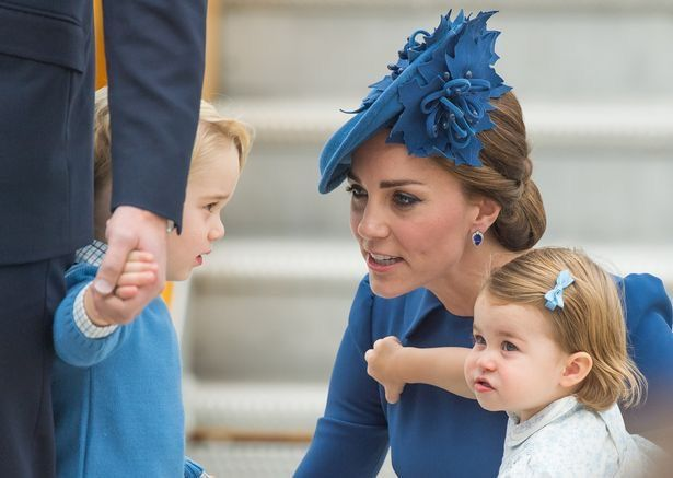 Catherine, George and Charlotte