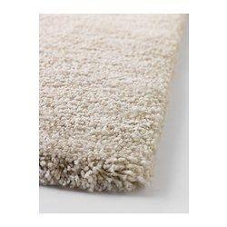 "ÅDUM Rug, high pile - 4 ' 4 ""x6 ' 5 "" - IKEA $60. Need antislip underneath - use my old one from navajo rug?"