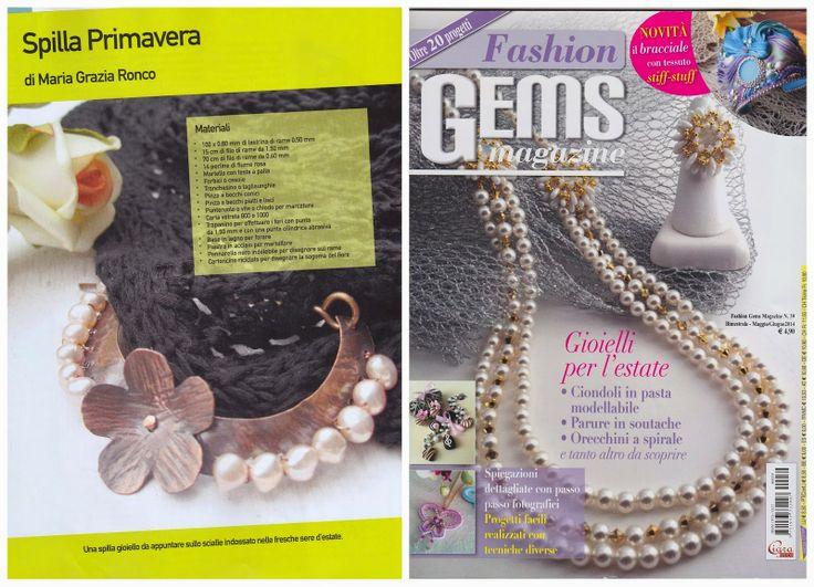 MagikeMani, Fashion Gems n. 39 - spilla Primavera