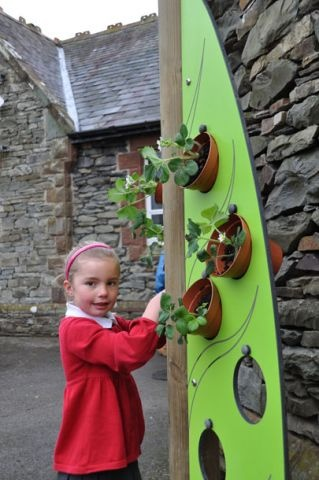 Playground Equipment | Eco Play | Vertical Planter | Playdale Playgrounds
