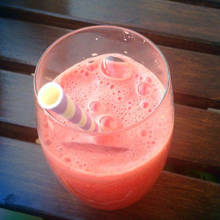 Watermelon martini mmmm..