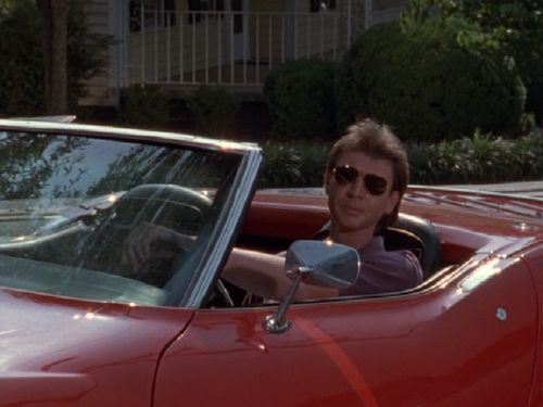 Jamison In His Corvette In The Heat Of The Night