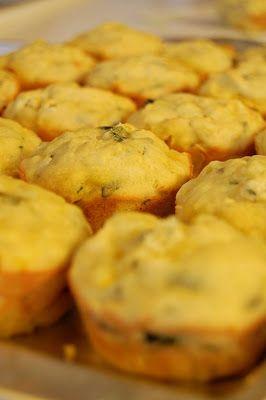 Yellow Squash Muffins