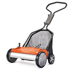 Husqvarna 18-in Reel Lawn Mower Why? Because even I can push this and it is good for the environment!!!
