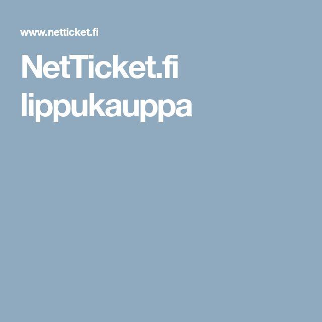 NetTicket.fi lippukauppa