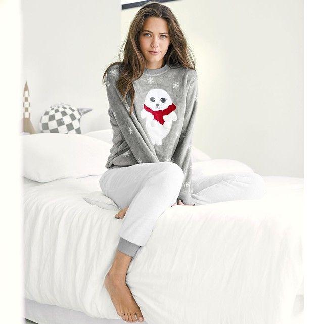 Pyjama chaud La Redoute Collections AH17