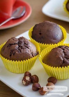 Paleo chocolade-bananen muffins