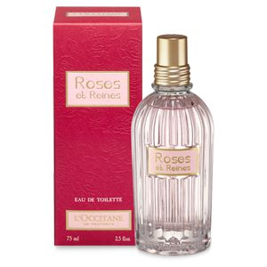 Roses et Reines Eau de Toilette is a fresh and velvety fragrance, a floral tale that celebrates the flower of queens. The muses that inspired this fr