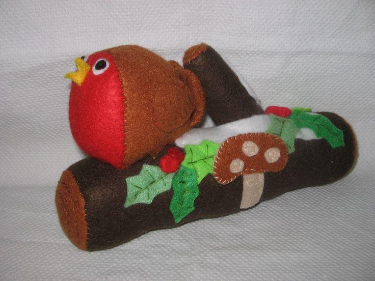 Katies Christmas log