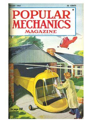 Meno male che questo futuro non si è realizzato. Immaginate un po' quanto ci farebbero pagare la RC Elicottero...
