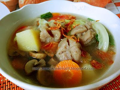 Resep Sayur Sop Bakso | Resep Masakan Indonesia (Indonesian Food Recipe)