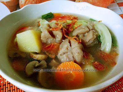 Resep Sayur Sop Bakso   Resep Masakan Indonesia (Indonesian Food Recipe)