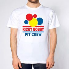 RICKY BOBBY'S PIT CREW TALLADEGA NIGHTS NASCAR MOVIE Costume MENS T-shirt e1309
