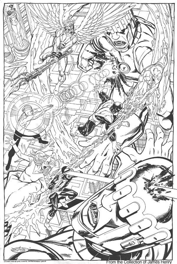 The X-Men vs. Sentinels by John Byrne *