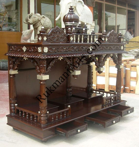 Image Result For Wooden Temple For Home