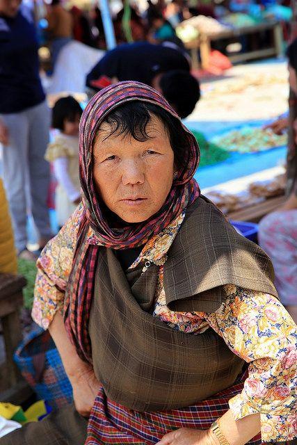 A face of Bhutan