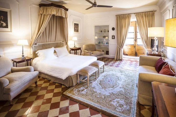 El hotel Spa Salinas de Imón es especial principalmente por dos motivos: el edificio histórico en el que se encuentra y su privilegiado entorno. (Imón, Guadalajara, España)