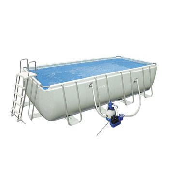 Piscine hors sol autoportante tubulaire intex ultra silver for Piscine 3x6