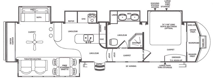 5th wheel floor plans with rear kitchen | 5th Wheel RV Camper Dealer and Sales…